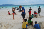 On location in Boracay